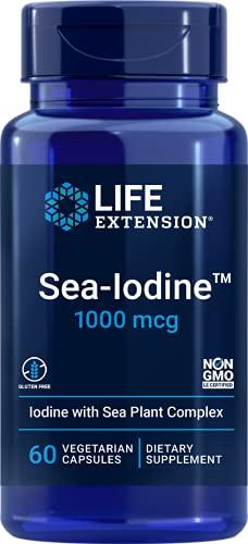 Life Extension Sea Iodine 1000 mcg, 60 Vegetarian Capsules