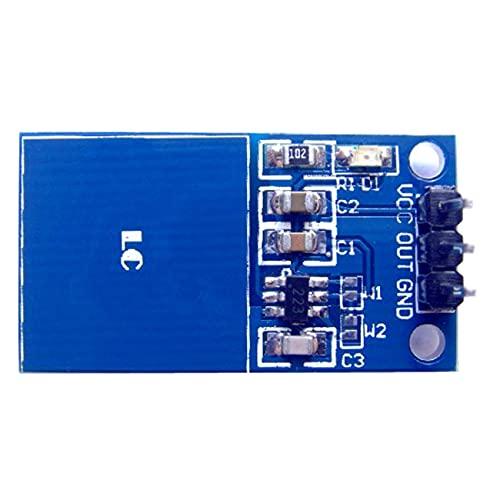 Módulo de sensor táctil digital con interruptor táctil capacitivo TTP223 de 10 piezas para Arduino