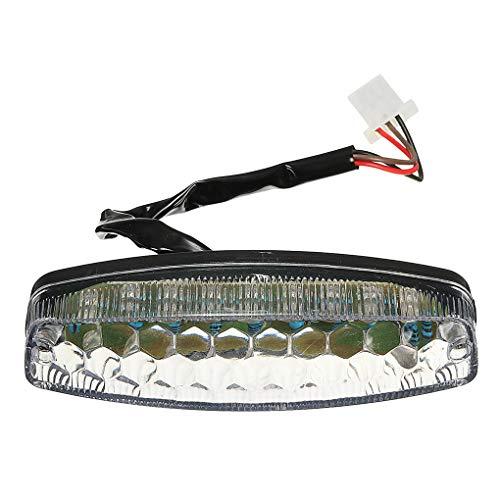 Qinghengyong Reemplazo para 50 70 110 Sunl luz LED de la Cola de ATV 125cc ATV Quad TAOTAO Sunl 18LED luz de Freno Trasero de Accesorios