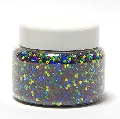 Perles de verre 6 mm gefrostet 50 pièce ronde couleur Amethyst