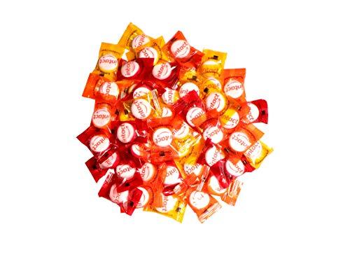 intact Traubenzucker, Fruchtmischung, 500g Vorratspack - ca. 180 Bonbons einzeln verpackt