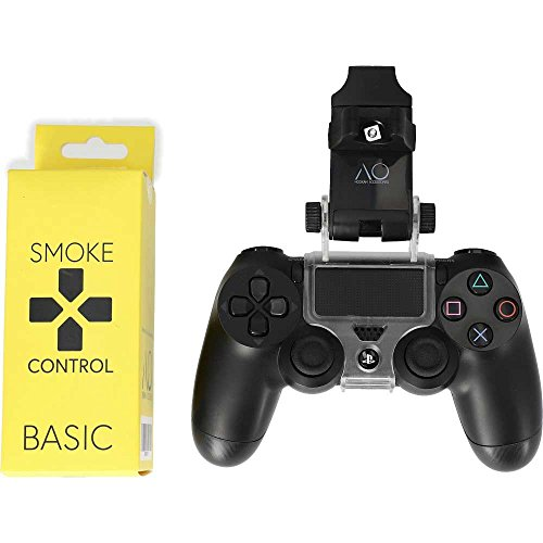 AO Hookah SmokeControl Shisha Schlauchhalterung Basic für PS4 | perfekte Mundstück Halterung beim Zocken