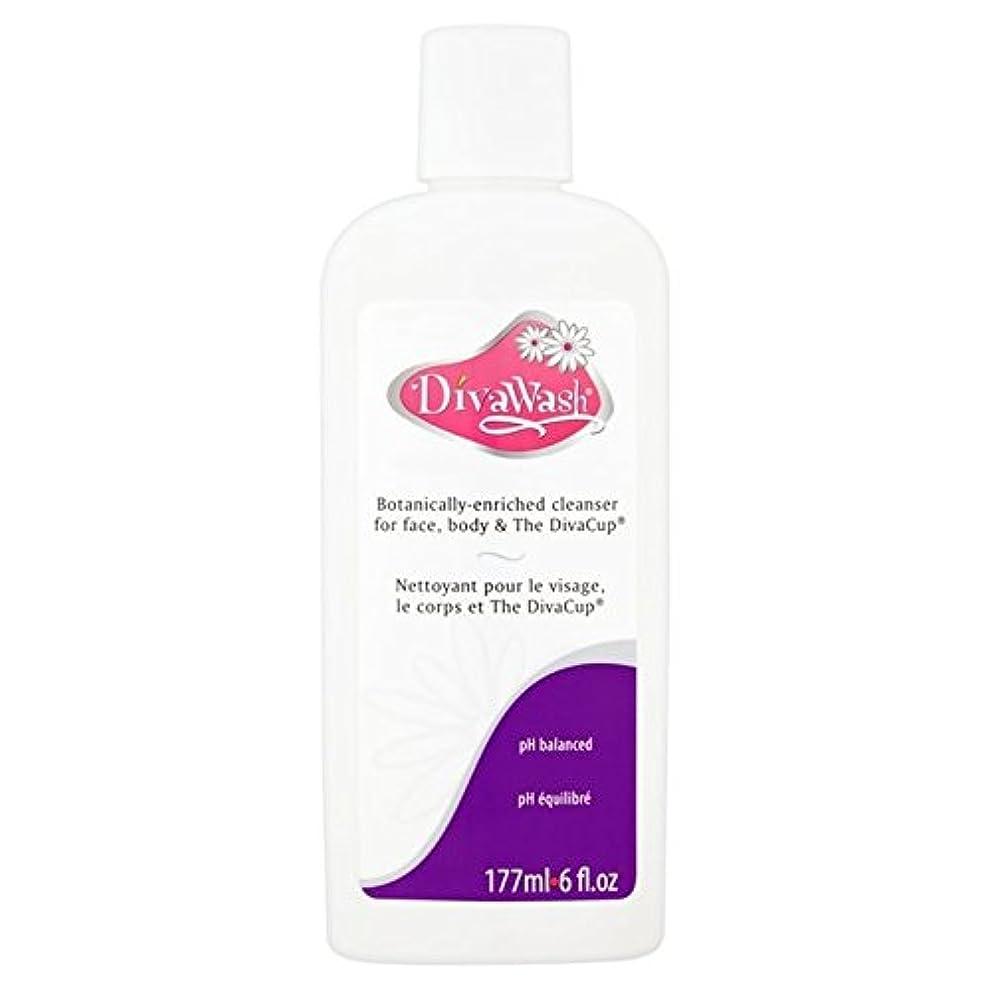 病気の生まれ不運歌姫国際株式会社、歌姫ウォッシュ177ミリリットル x2 - Diva International Inc, The Diva Wash 177ml (Pack of 2) [並行輸入品]