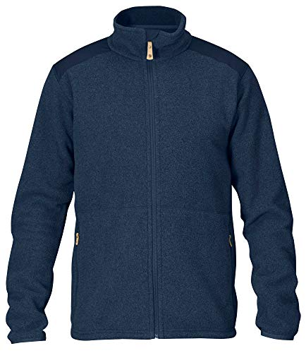 FJÄLLRÄVEN Sten Fleece M Sweat-Shirt Homme, Dark Navy, FR (Taille Fabricant : XL)