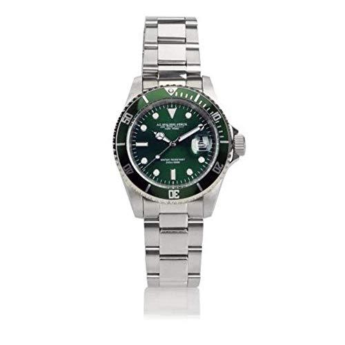 Orologio Clock Driver A.G. SPALDING & BROS. Uomo Man Verde Green 174431U313