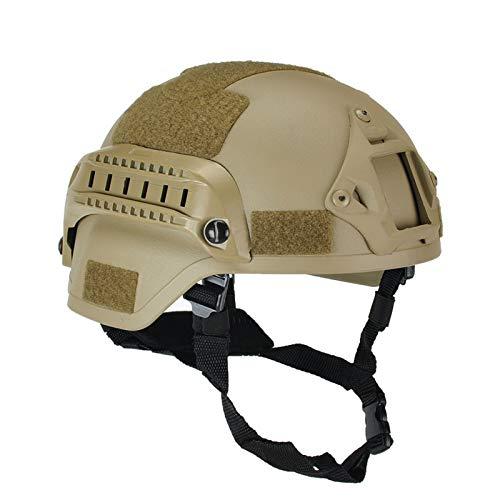 lzndeal Nouveau Mich 2000 Militaire Airsoft Casque Tactique Armée Combat Protecteur De Tête Wargame Paintball Casques Vitesse