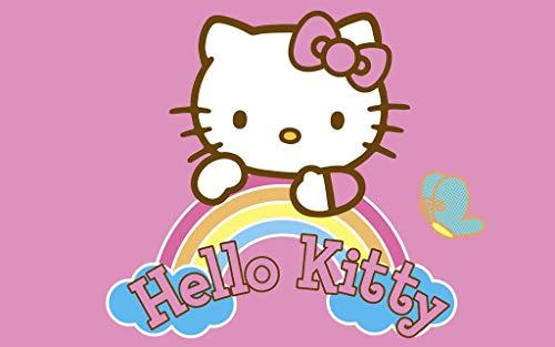 Hello Kitty Alfombra infantil Kitty (por favor, indique su selección por correo electrónico)