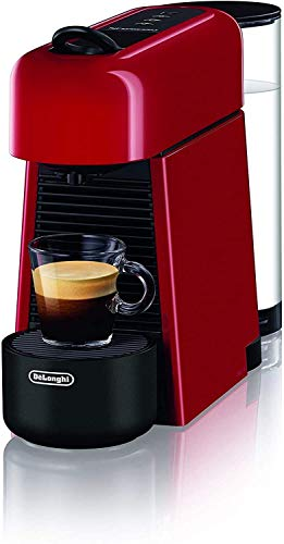 De'Longhi EN200.R Macchina del caffè con Sistema a Capsule Nespresso, Plastica, Rosso