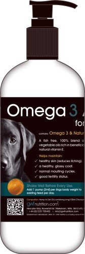 GWF Nutrition Omega 3 Coat Aid for Dogs x Size: 250 Ml