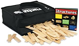 MindWare KEVA Structures: 400 Plank Building Set in a Canvas Tote