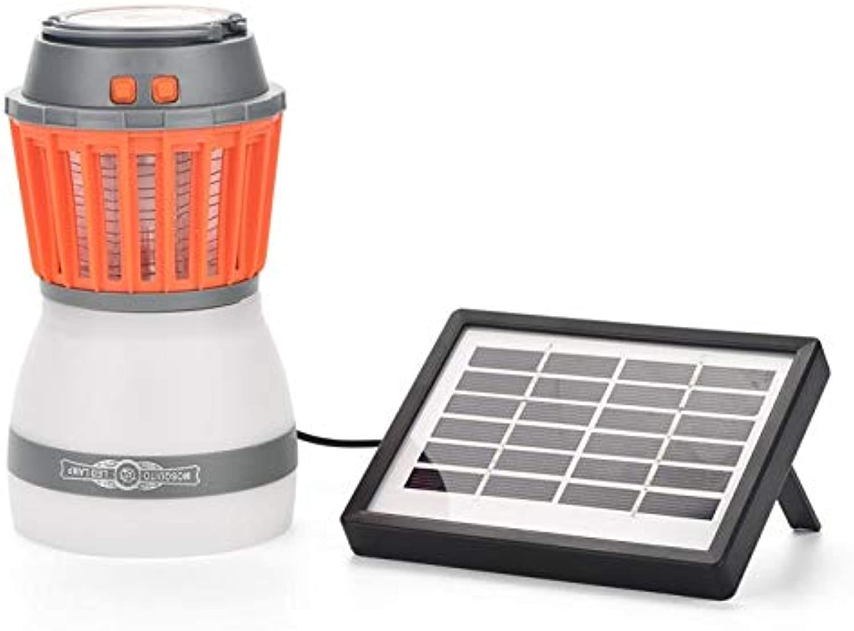 Moskito-Lampe SHUAKFDElectronic Moskito-Mrder-Lampe LED-Anti-Moskito-Lampe Solar-Moskito-Mrder-Lampe Nachtlampe wasserdichte Schdlingsbekmpfer-Lampe im Freienmit Sonnenkollektoren