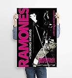 LKY Ramones Poster, klassische Punk-Rock-Band Ramones,