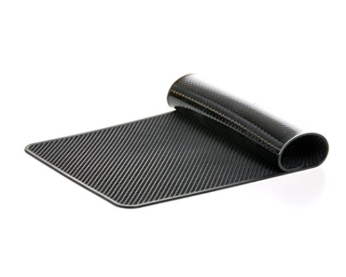 Extra Large 26 x 15cm Magic Anti-Slip Non-Slip Mat Car Dashboard Sticky Pad Adhesive Mat for Cell Phone, CD, Electronic Devices, iPhone, iPod, MP3, MP4, GPS - Black