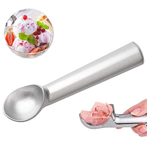 Eisportionierer, Aluminium Eisportionierer Professioneller Antihaft-Eislöffel Portionierer für hartes Eis, Obst, Kartoffelpüree