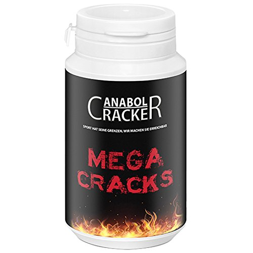 Mega Cracks, Muskelaufbau Anabolika, 90g Dose, Testosteron/Trainings Booster Supplement