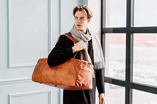 Berliner Bags Oslo XL Reisetasche aus Leder Weekender - 2