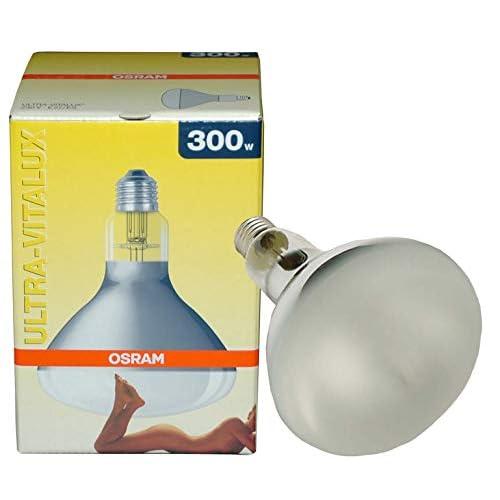 Osram - Lampadina Ultra Vitalux 300W, attacco: E27