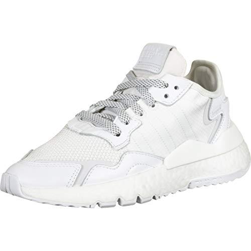 Adidas Nite Jogger, Sneaker Hombre, Blanco, 35.5 EU