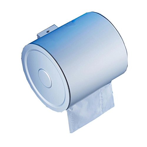 Toilettenpapierhalter / Toilettenpapierkasten-Aluminium-rund , 2