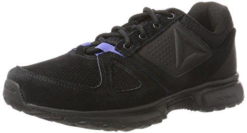 Reebok Damen Sporterra 7.0 Walkingschuhe, Schwarz (Black/Coal/Lilac Shadow/Medium Grey), 42.5 EU