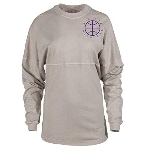 Official NCAA Kansas State University Wildcats KSU K-State Women's Long Sleeve Spirit Wear Jersey T-Shirt