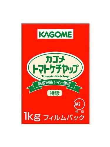 カゴメ 国産トマト100%使用トマトケチャップ 1kg