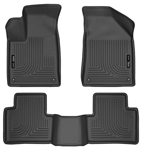 Husky Liners Fits 2015-16 Chrysler 200 Weatherbeater Front & 2nd Seat Floor Mats