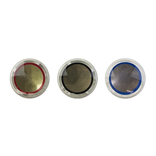 LASCO 0-6143 Hot/Cold/Diverter Faucet Handle Index Buttons for Nibco and Brands, Acrylic
