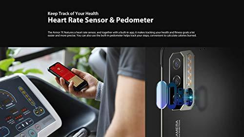 Ulefone Armor 7E(2020) Telephone Portable Incassable Debloqué - Helio P90 Octa Core 4Go + 128Go, Caméra 48 MP, FHD+ 6.3'', Smartphone Résistant Etanche Antichoc Android 9.0 IP68, Charge sans Fil, NFC