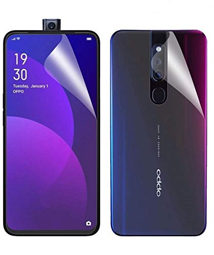 Blue Blood® 360° Buff Guard [Front + Back + Camera Lens] [Not Tempered Glass] Full Body Coverege Screen Protector for OPPO F11 Pro − List 1324