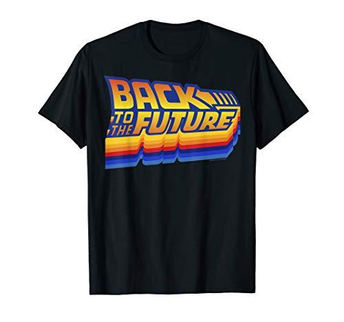 Back To The Future Retro 80s Logo T-shirt, Men, Women, Child Sizes up to 3XL