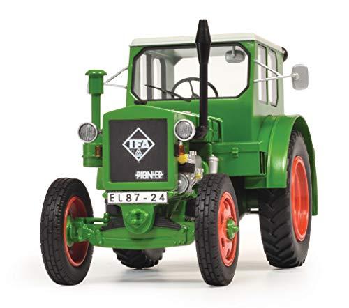 Schuco 450903300 IFA RS-01 Pionier, Traktor, Modellauto, 1:32, Resin, grün