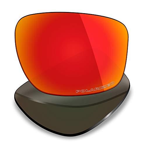 Mryok + Polarisierte Ersatzgläser für Oakley Sliver - Fire Red
