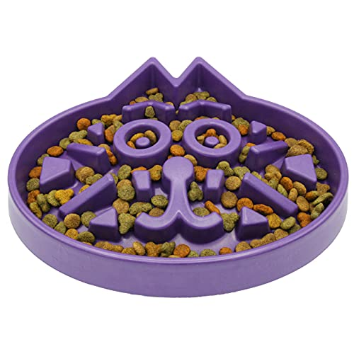 Simply Pets Online Slow Feed Cat Bowl