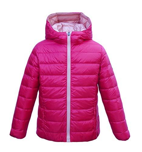 JOTT - Chaqueta - Abajo - para niño Pink-rosa 6-8 Años