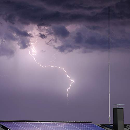 PROCOMM PT-99 Antena de Base Fibra CB 27 MHz Longitud 5,65 Metros Made in USA
