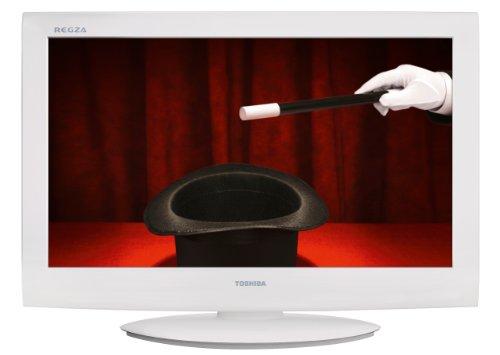 Toshiba 32AV734G 81,3 cm (32 Zoll) LCD-Fernseher (HD-Ready, DVB-T/-C) weiß