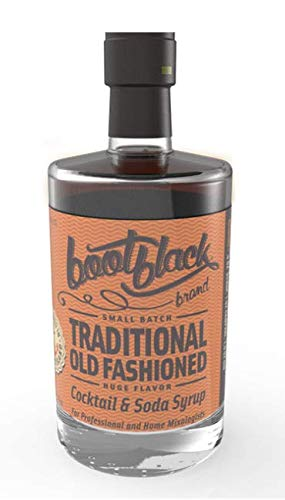 Bootblack Brand Traditional Old Fashioned Complex Cocktail & Soda Syrup, 375 ml