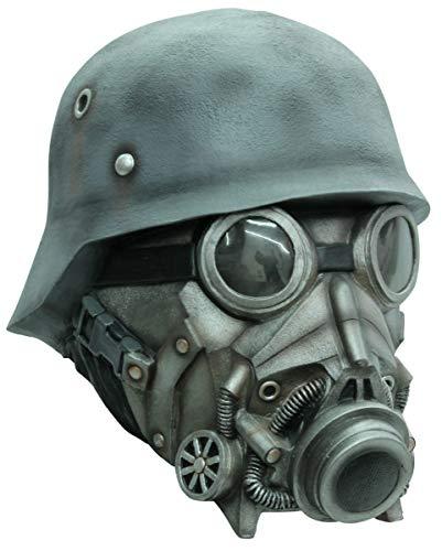 Horror-Shop Ataque de gas Máscara de gas de lujo
