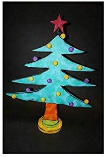 Kinks & Quirks Turquoise Dotted Wall Art Tree by Tra Art Studio…