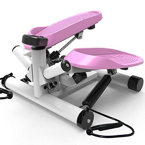 YSYSZYN Stepper inclusief weerstand banden/Home stepper met draadloze training computer – Up-down stepper voor beginners en gevorderde gebruikers, klein en compact, home gym apparatuur