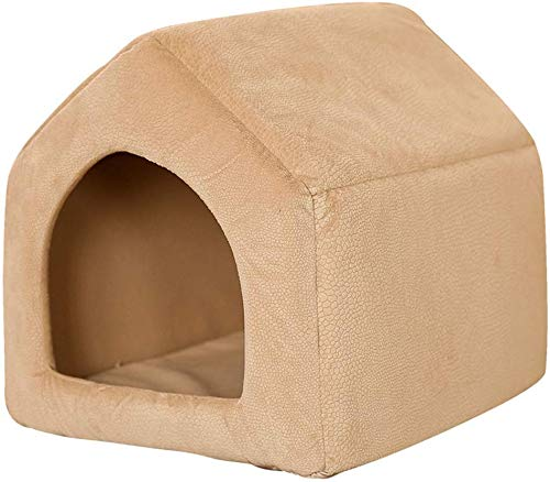 YLCJ Afneembare slaapzak voor honden, rups en kattennest, vijf kleuren om uit te kiezen (kleur: D, maat: M), Large, C