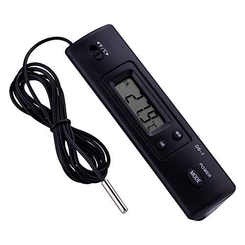 Borlai Elektronische Lcd digitale temperatuurmeter thermometer sondesensor voor koelkast bedrad