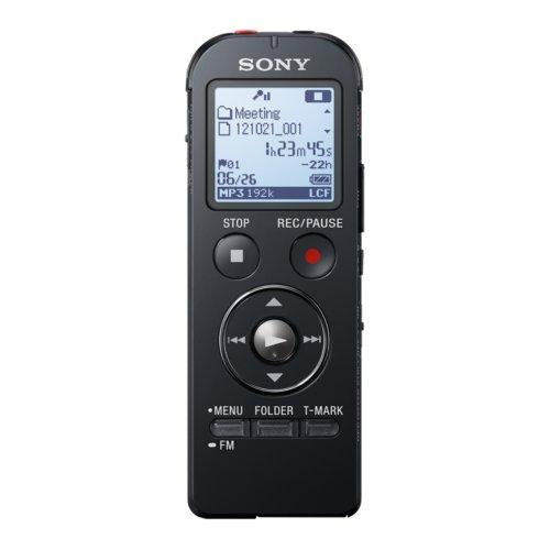 Sony ICD-UX533 Registratore Vocale Portatile, Nero