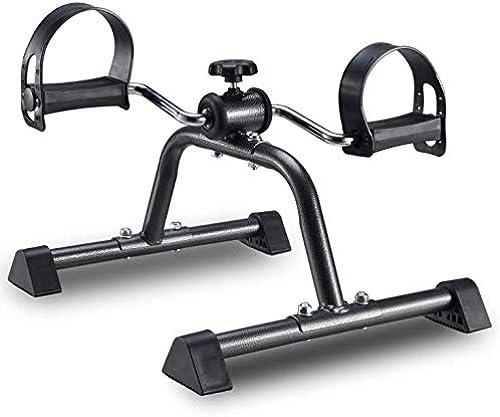 Exerciseur à Pédale - Mini Vélo D'exercice Sous Le Bureau, Cycle De Pied Portable Pour Les Jambes, Vélo D'exercice Pour Jambe, Membre Inférieur Intérieur
