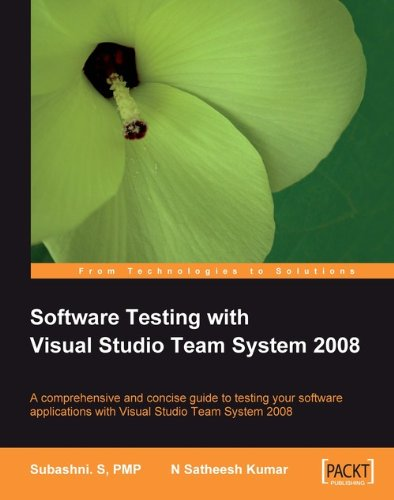 Software Testing with Visual Studio Team System 2008 (English Edition)