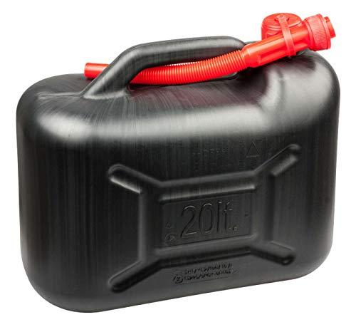 Walser Benzinkanister 20 Liter - UN-geprüft mit Sicherheitsverschluss