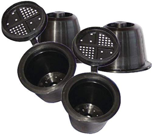 TronicXL 3 Stück Kapsel zum selber füllen CoffeeDuck Kaffee Kapseln Wiederbefüllbar kompatibel mit Ersatzteil für Nespresso 3 Kapseln passen in alle Nespresso Kapselmaschinen ab Oktober 2010