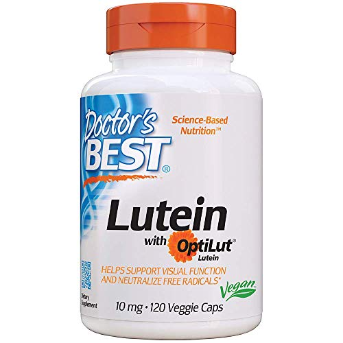Doctor'S Best 10Mg Luteina Con Optilut Supplemento 120 Capsule - 300 g
