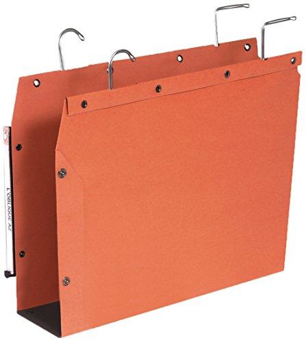 Elba TUB Ultimate Hängemappe für Schrank A4 80mm Boden Karton orange Pack 25